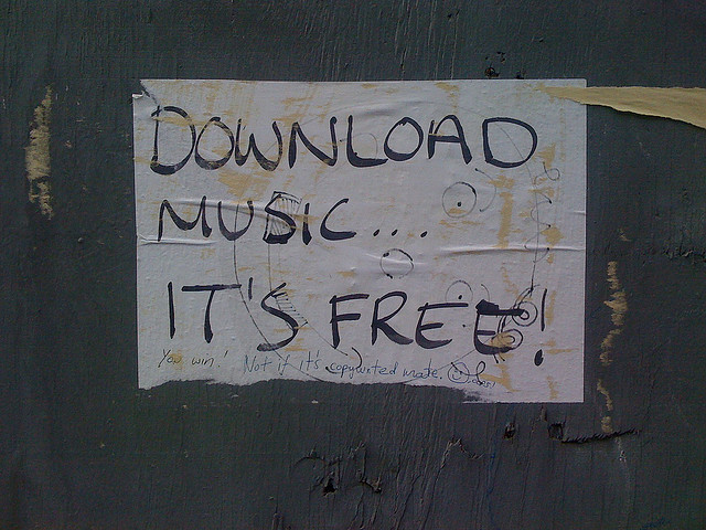 Music is free?