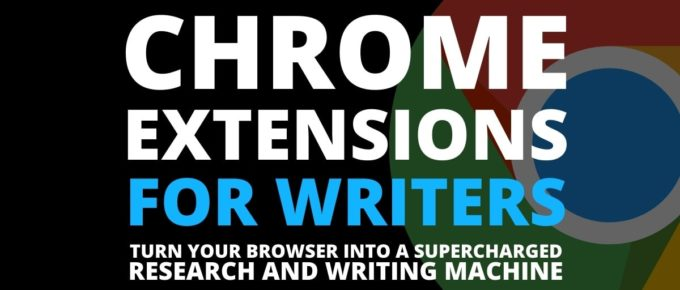 best chrome extensions for writers
