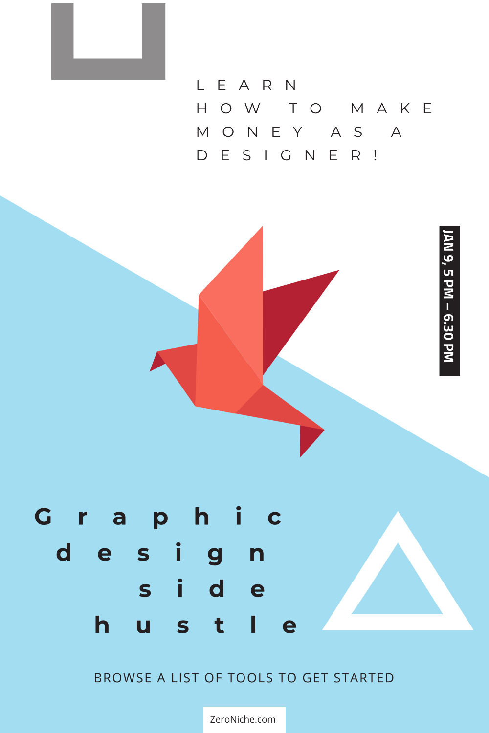 how to start a graphic design side hustle 1