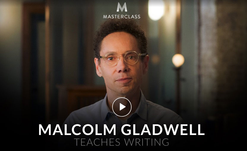 writing course gift malcolm gladwell teaches writing