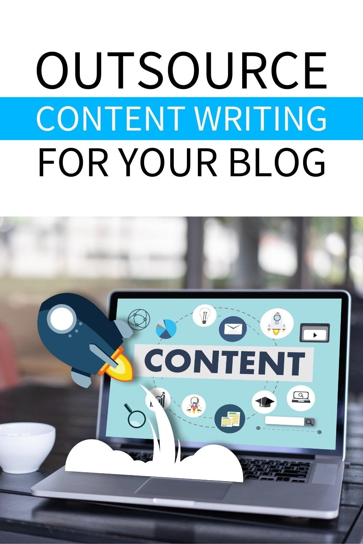 outsource blog writing pinterest