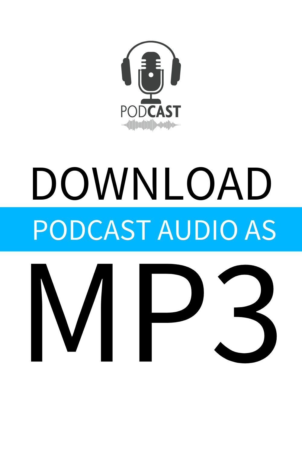 download podcast as mp3 pinterest